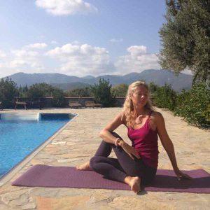 Ардха-Матсиендрасана йога асана